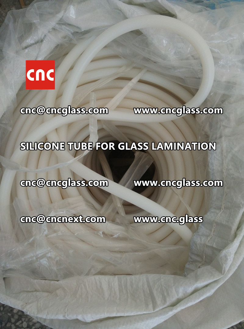 SILICONE TUBE for safety glass lamination vacuuming  (6)