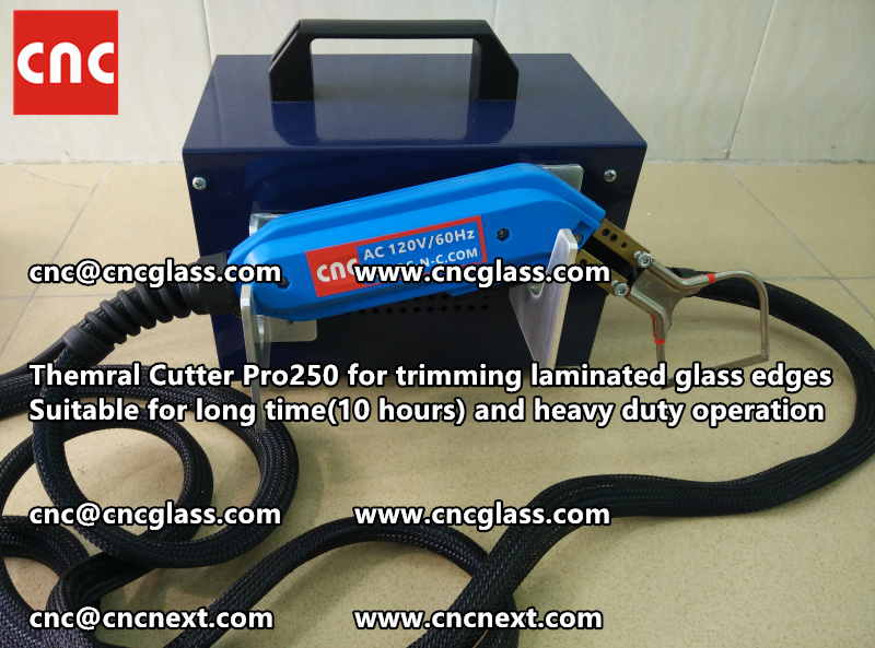HEATING KNIFE HOT KNIFE THERMAL CUTTER for cleaning laminated glass edges EVA (100)