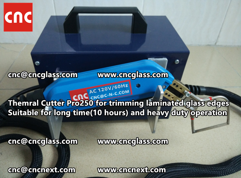 HEATING KNIFE HOT KNIFE THERMAL CUTTER for cleaning laminated glass edges EVA (15)