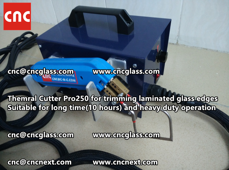 HEATING KNIFE HOT KNIFE THERMAL CUTTER for cleaning laminated glass edges EVA (24)