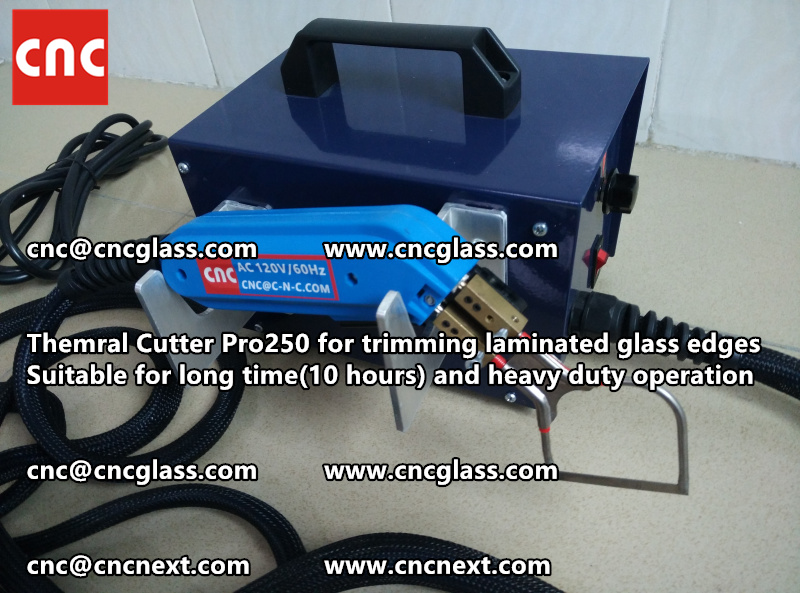 HEATING KNIFE HOT KNIFE THERMAL CUTTER for cleaning laminated glass edges EVA (39)