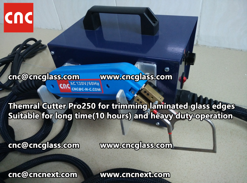 HEATING KNIFE HOT KNIFE THERMAL CUTTER for cleaning laminated glass edges EVA (50)