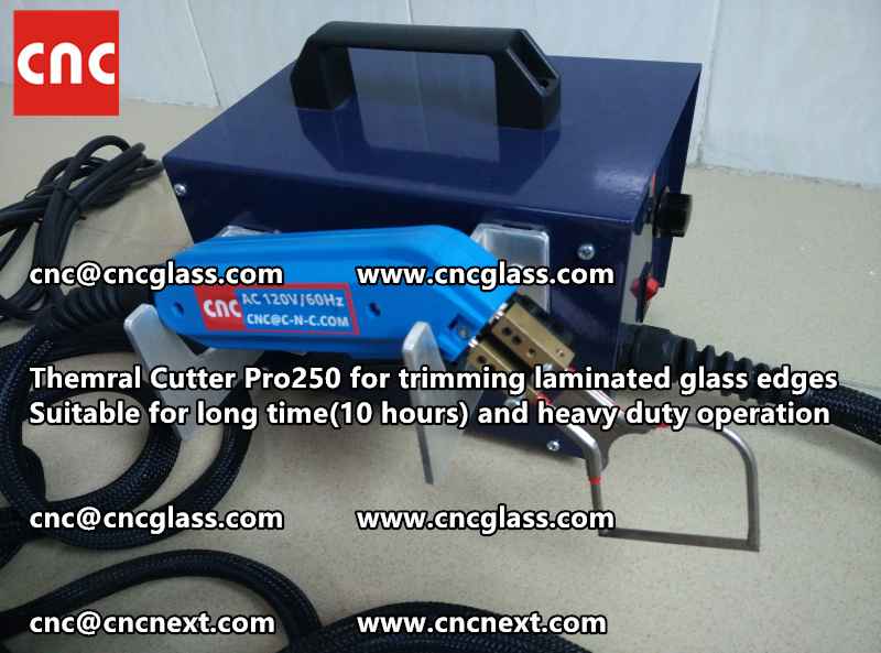 HEATING KNIFE HOT KNIFE THERMAL CUTTER for cleaning laminated glass edges EVA (52)