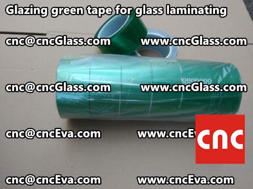 Green tape for safety glass laminating glazing (5)