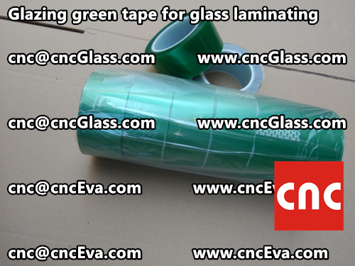 Green tape for safety glass laminating glazing (6)