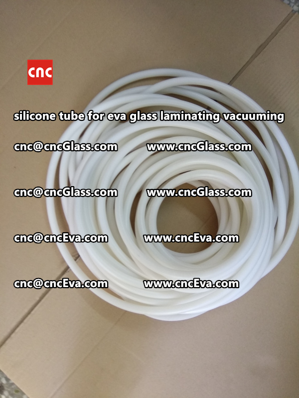 Silicon tube for glass laminating vacuuming  (13)