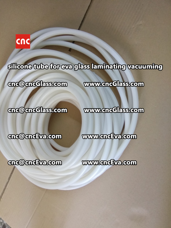 Silicon tube for glass laminating vacuuming  (5)