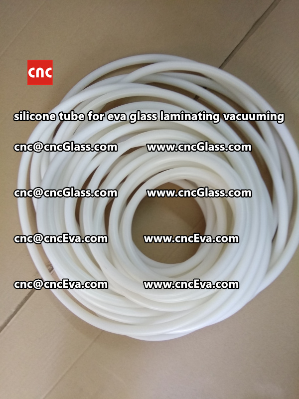 Silicon tube for glass laminating vacuuming  (9)