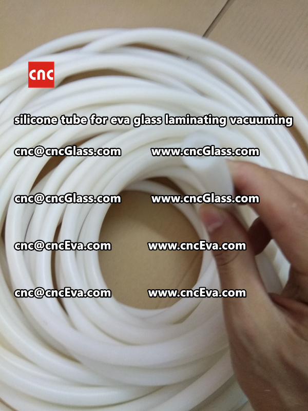 Silicone tube  for vacuum pump laminating eva film interlayer (1)