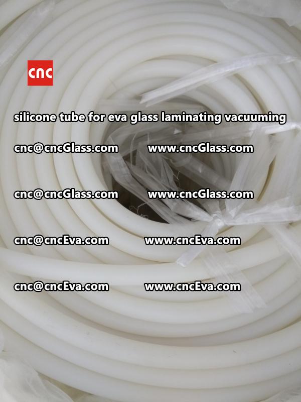 Silicone tube  for vacuum pump laminating eva film interlayer (11)