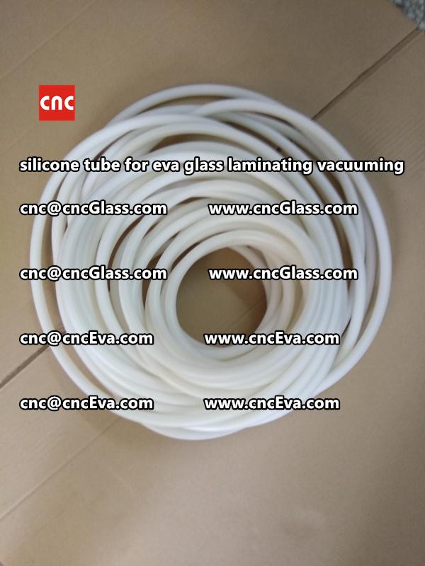 Silicone tube  for vacuum pump laminating eva film interlayer (12)