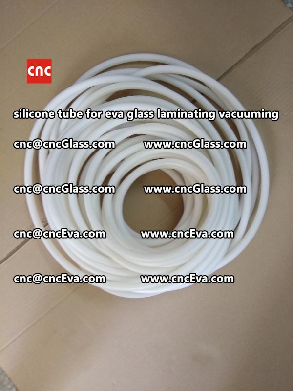 Silicone tube  for vacuum pump laminating eva film interlayer (15)