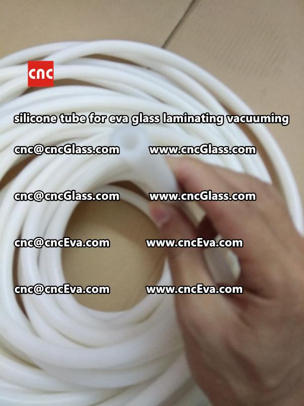 Silicone tube  for vacuum pump laminating eva film interlayer (19)