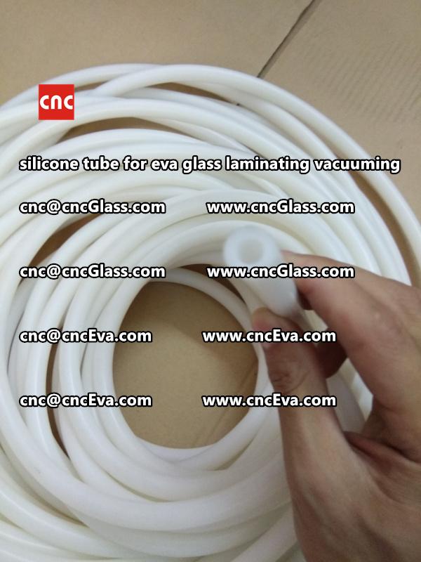 Silicone tube  for vacuum pump laminating eva film interlayer (23)