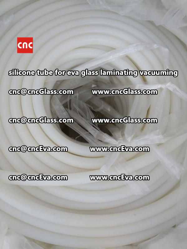 Silicone tube  for vacuum pump laminating eva film interlayer (3)