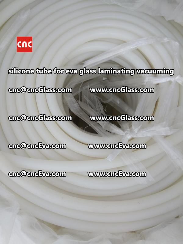 Silicone tube  for vacuum pump laminating eva film interlayer (6)