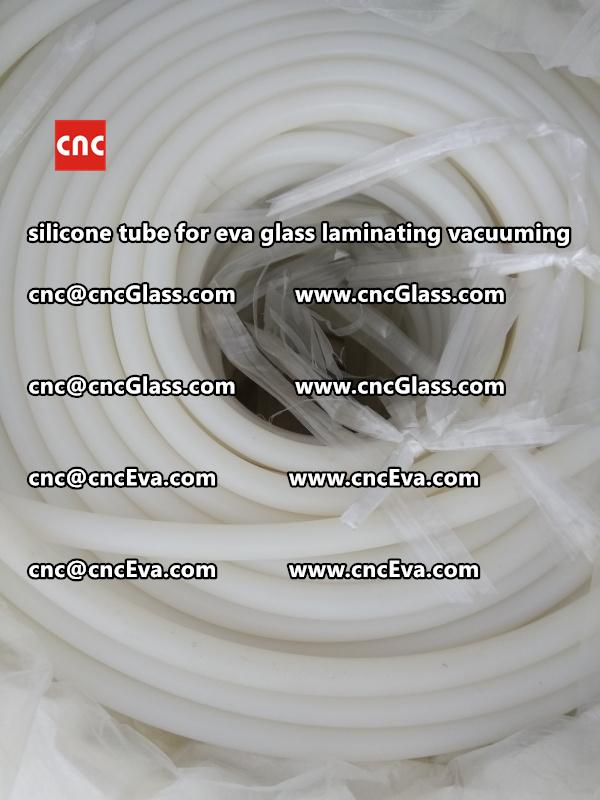 Silicone tube  for vacuum pump laminating eva film interlayer (7)