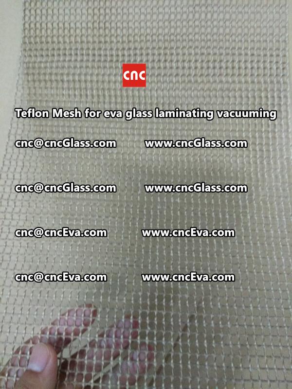 mesh for helping vacuuming of glass laminating (1)