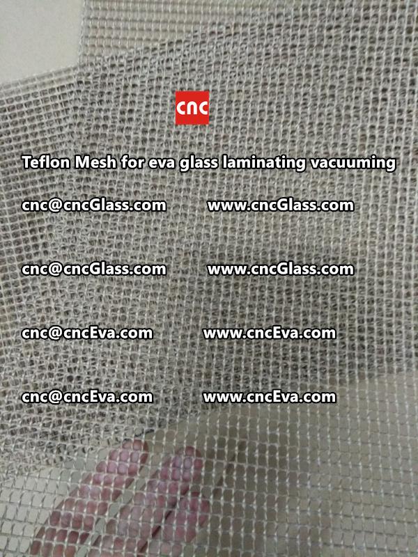 mesh for helping vacuuming of glass laminating (2)