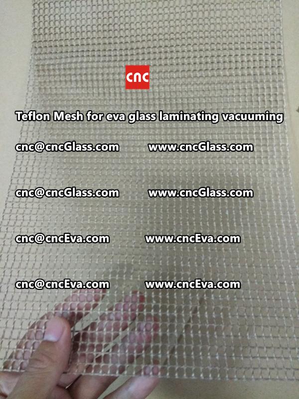 mesh for helping vacuuming of glass laminating (4)