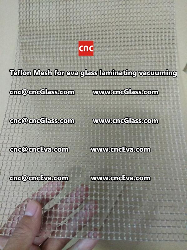 mesh for helping vacuuming of glass laminating (6)