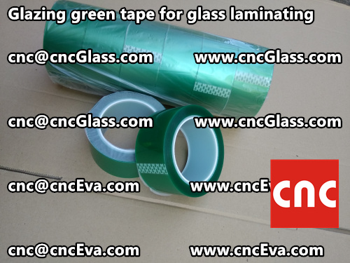 vacuum green tape for glazing (5)