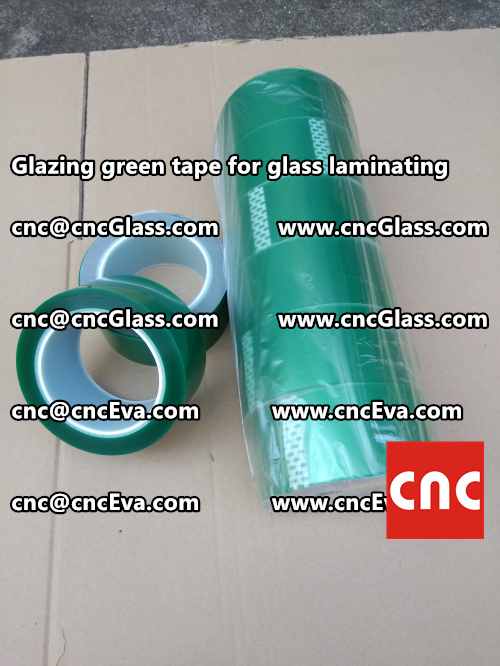 vacuum green tape, for laminating glass (2)