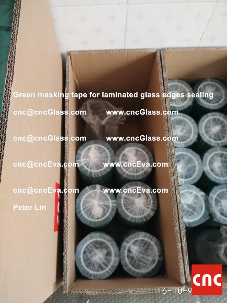 green-masking-tape-for-laminated-glass-edges-sealing-7
