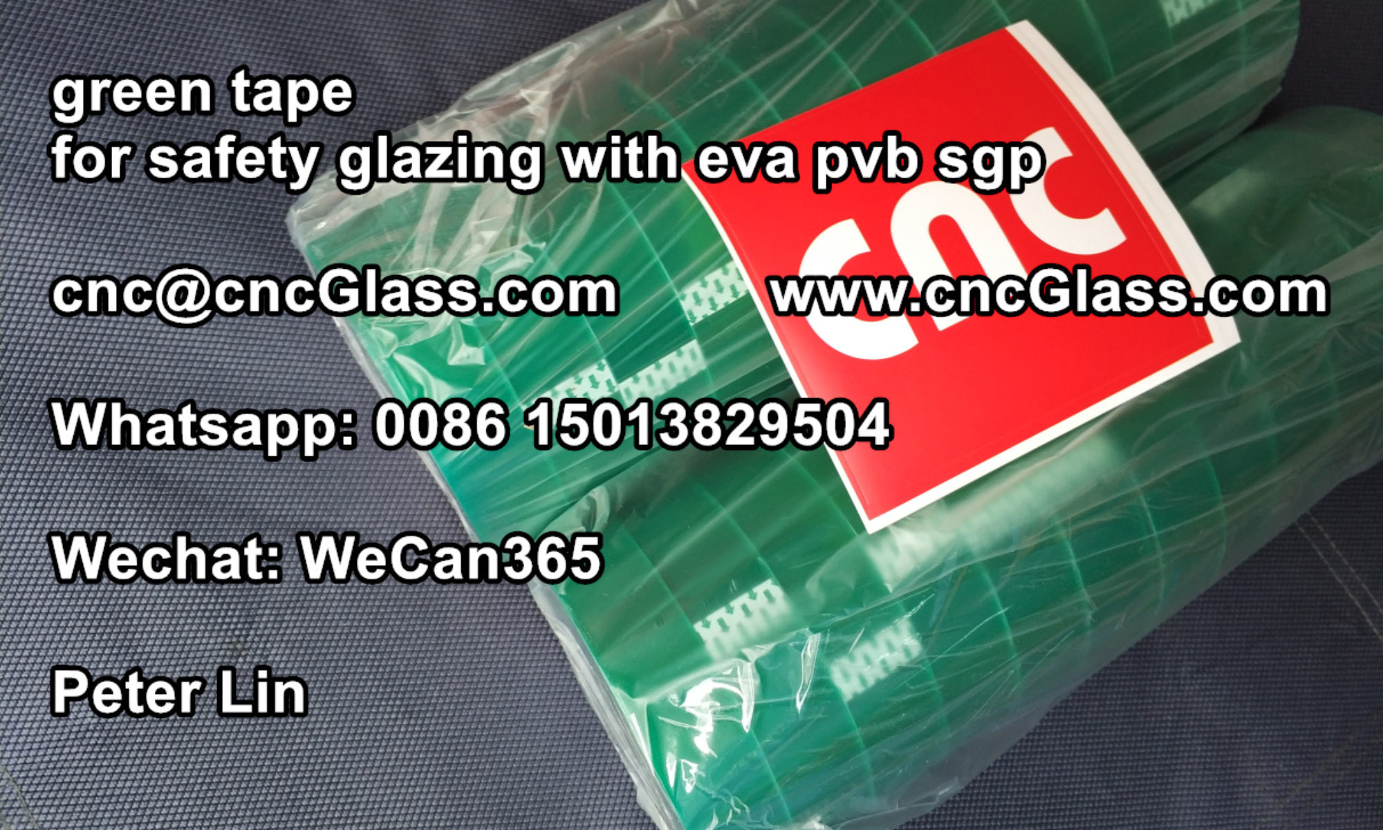 Green Tape, Silicone bag and Vacumming Mesh for glass laminating