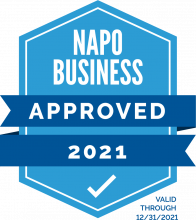 NAPO stamp of approval
