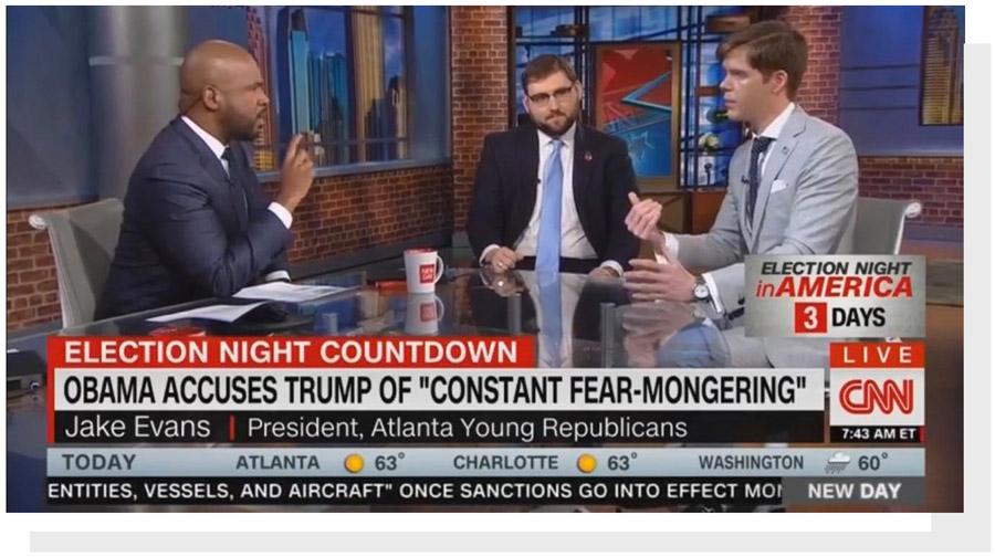 Jake Evans on CNN