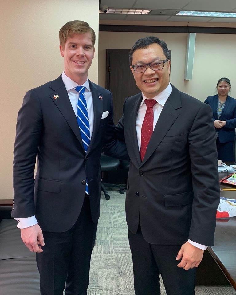 Jake Evans Participates in United States Delegation to Taiwan