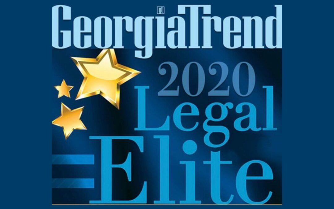 Jake Evans Named to Georgia Trend's 2020 Legal Elite