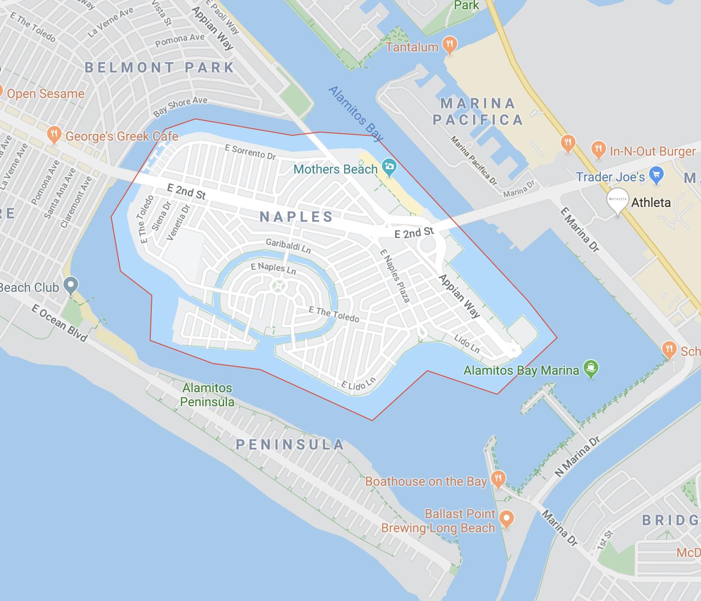 Naples, Long Beach, California