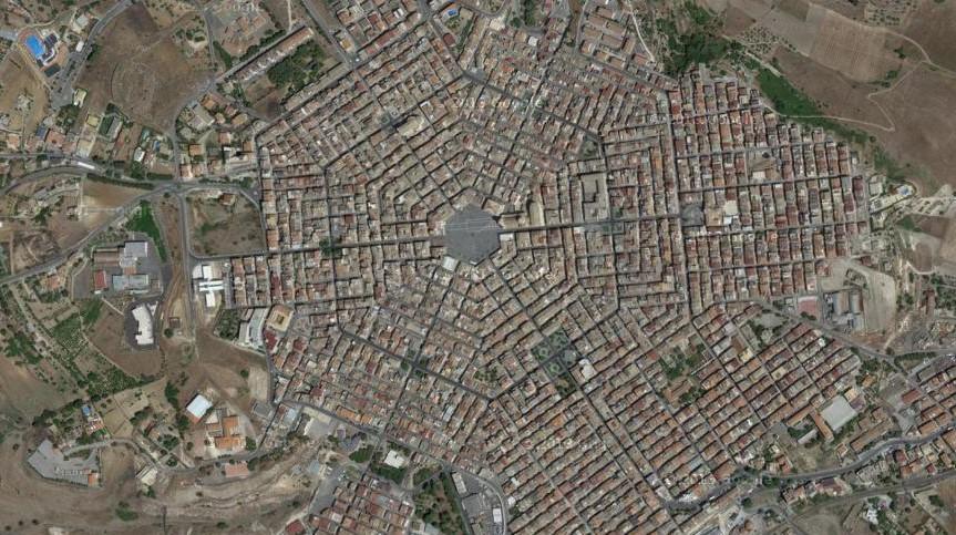 Grammichele, Sicily