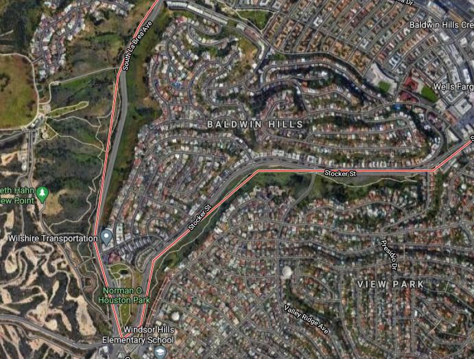 Baldwin Hills, Los Angeles