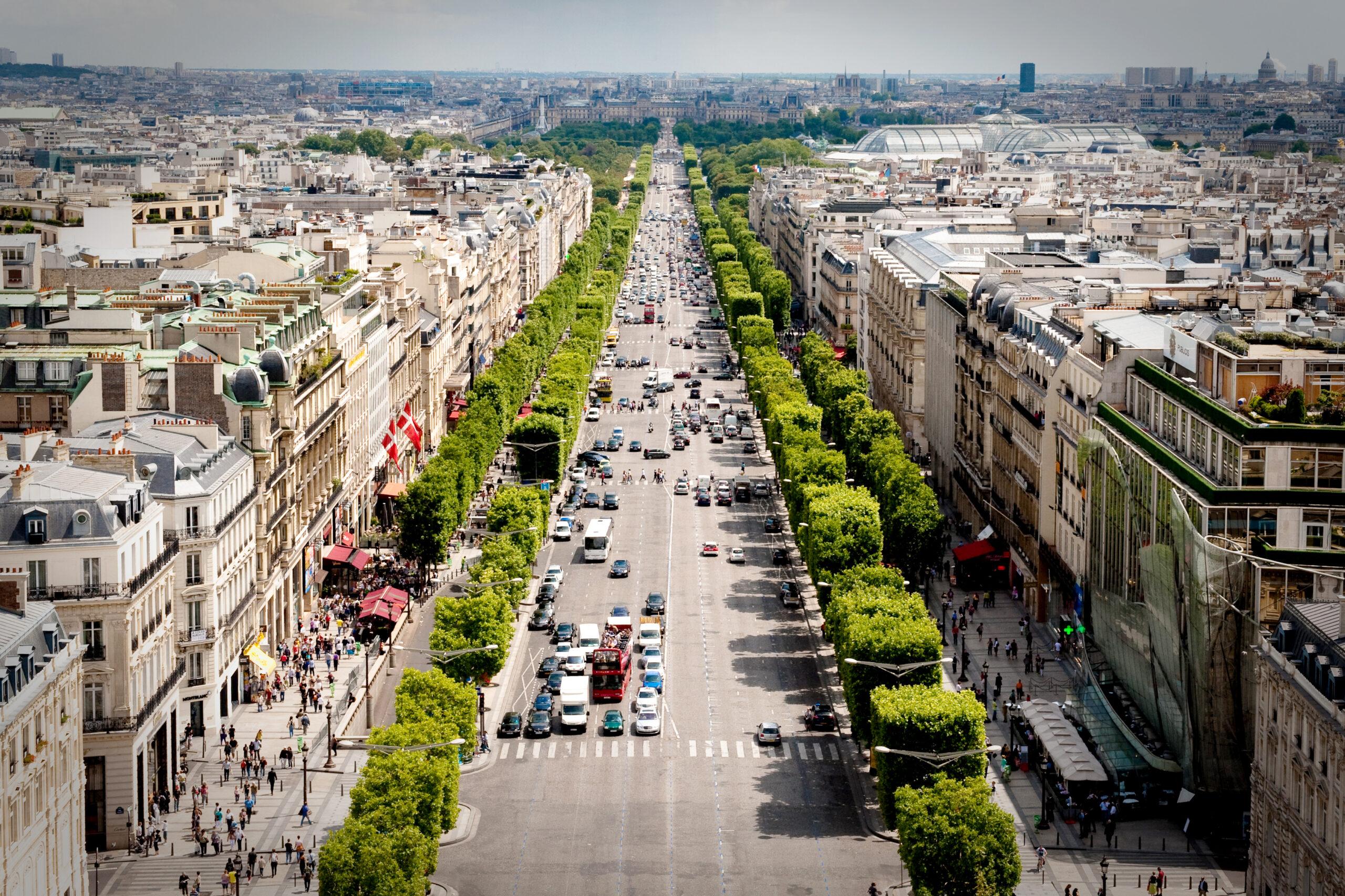 The Champs-Élysées