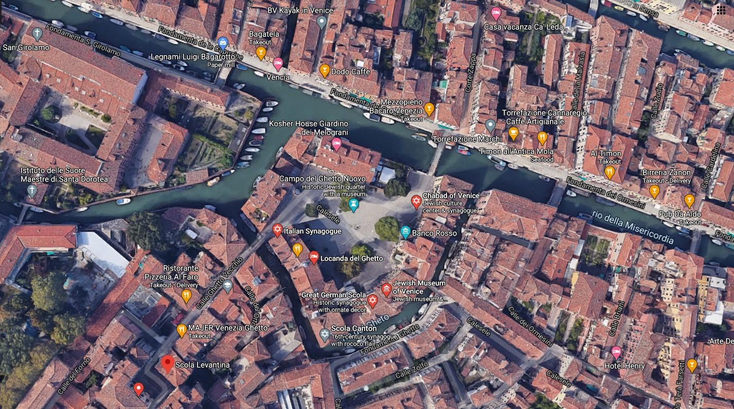 Jewish Ghetto in Venice