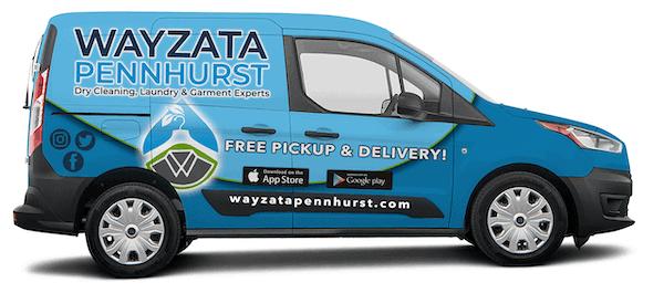 Wayzata Pennhurst Dry Cleaning, Laundry & Garment Experts Delivery Vehicle near me