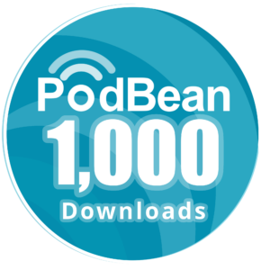 1000+ downloads on Podbean