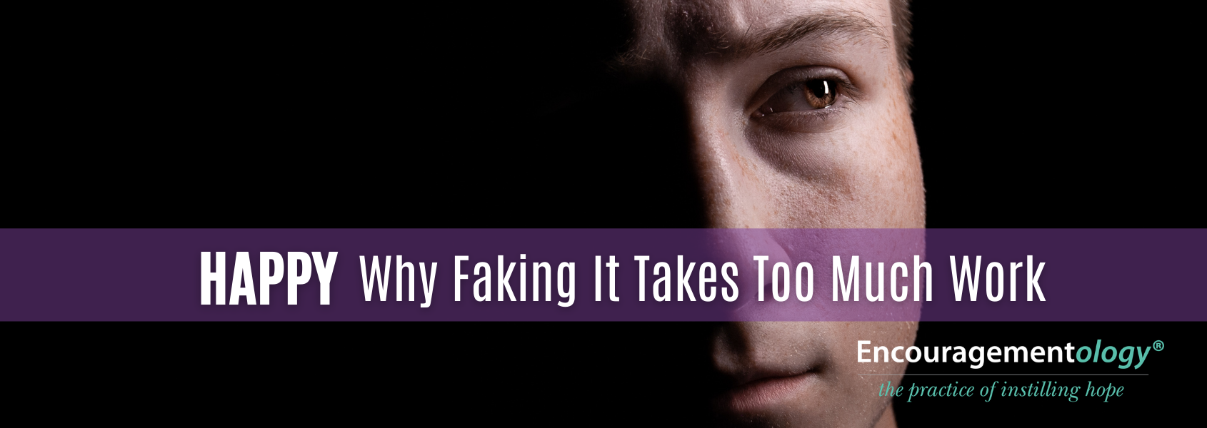 Finding happiness instead of faking it