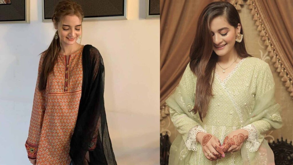 Actress Aiman Khan Look Alike Found