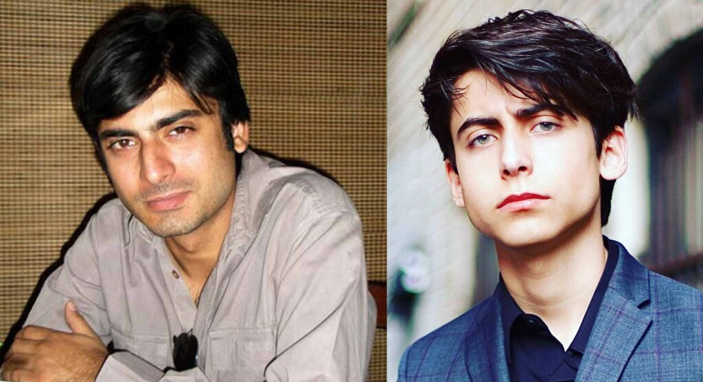 Aidan Gallagher and Fawad Khan