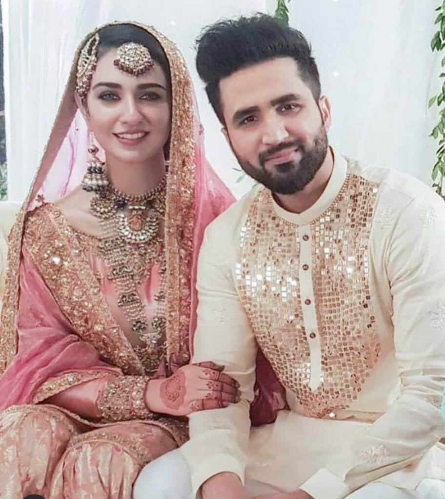 Sarah Khan and Falak Shabir Wedding