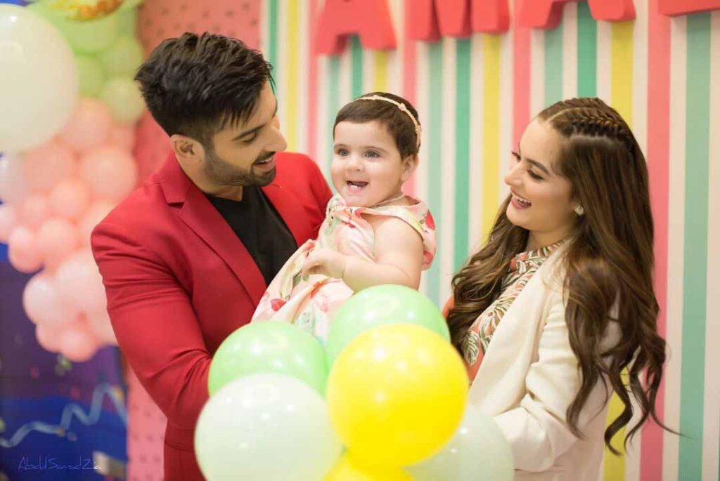 Amal Muneeb First Birthday Bash