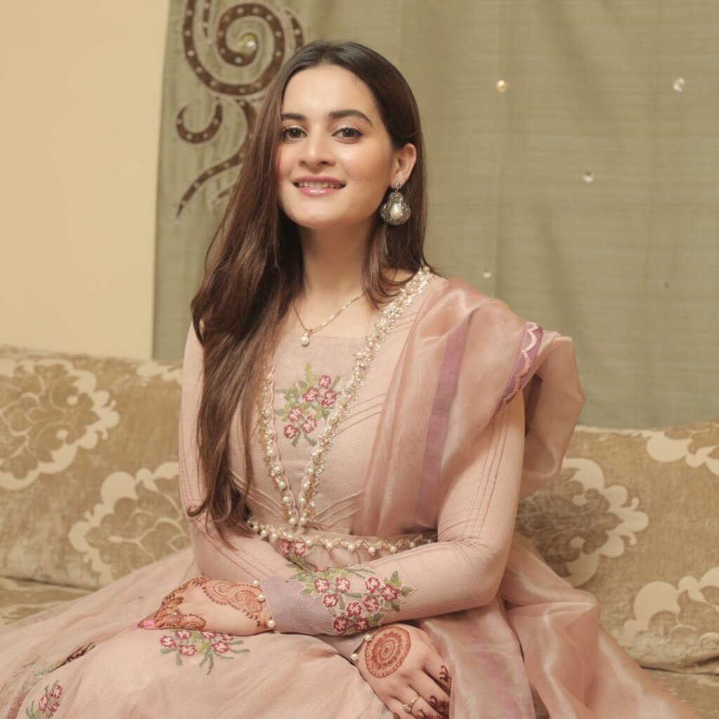 Pakistani Actress Aiman Khan