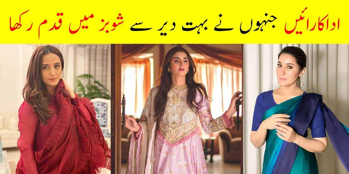 Pakistani Actresses Who Join Media After Their Marriage