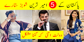 Pakistani Industry Rich Celebrities