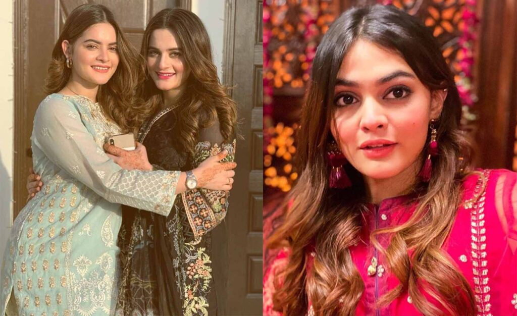 aiman khan and minal khan sister
