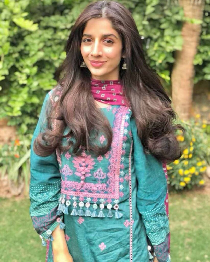mawra hussain on eid